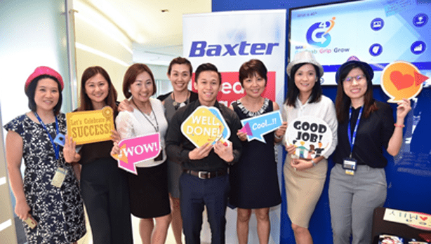 Baxter Healthcare Singapore Great Place to Work Certified