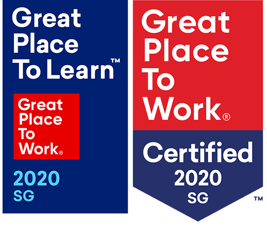 Great Place to Learn and Great Place to Work Certification and Recognition