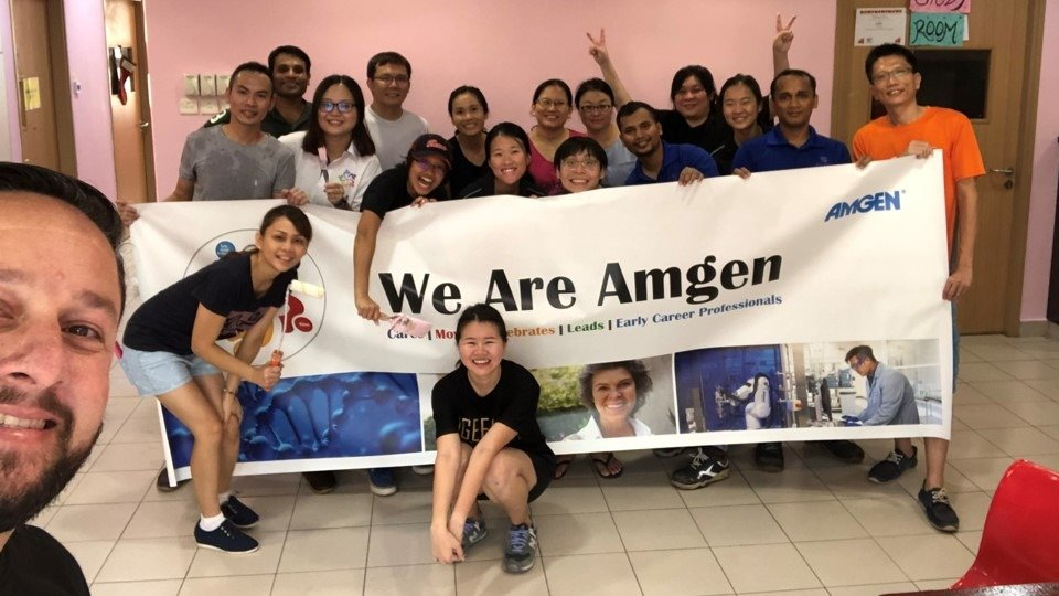 Amgen Singapore Great Place to Work Certified