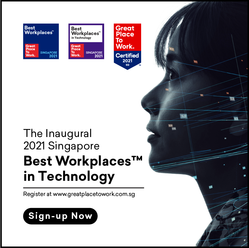 Singapore Best Workplaces in Technology List