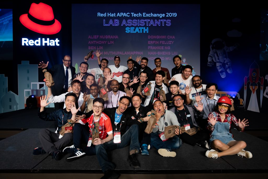 RedHat Singapore Great Place to Work Certified